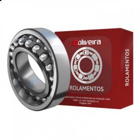 Rolamento Autocompensador de Esferas 1211K/C3 - 55x100x21mm