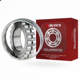 Rolamento Autocompensador de Rolos 22208KMC3W33 - 40x80x23mm