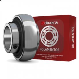 Rolamento Esférico com Fixação por Parafusos UC203 - 17x40x27,4mm