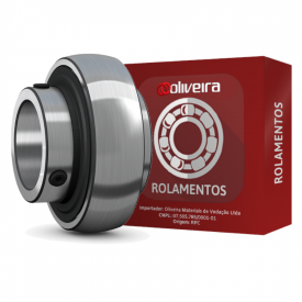 Rolamento Esférico com Fixação por Parafusos UC209 - 45x85x49,2mm