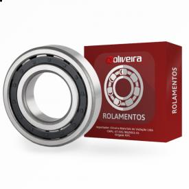 Rolamento de Rolos Cilíndricos de 1 Carreira N307FM - 35x80x21mm