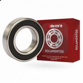 Micro Rolamento Rígido de Esferas 607-2RSC3 - 7x19x6mm